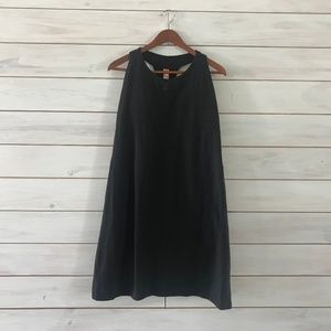 Lucy Activewear Black Racerback Dress